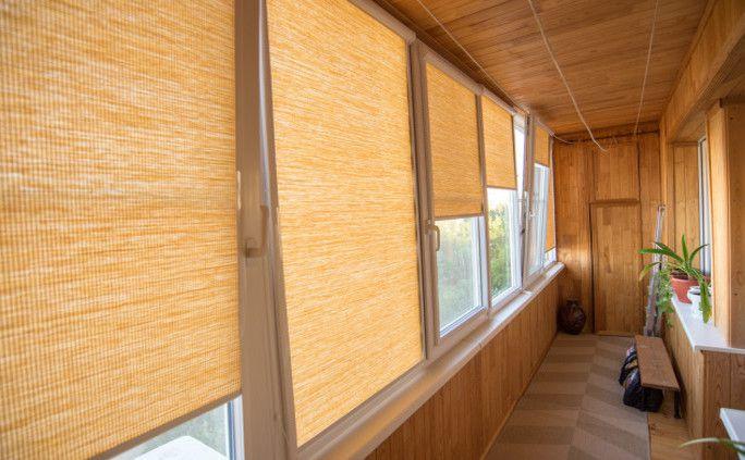 Солнцезащита для балконов и лоджий