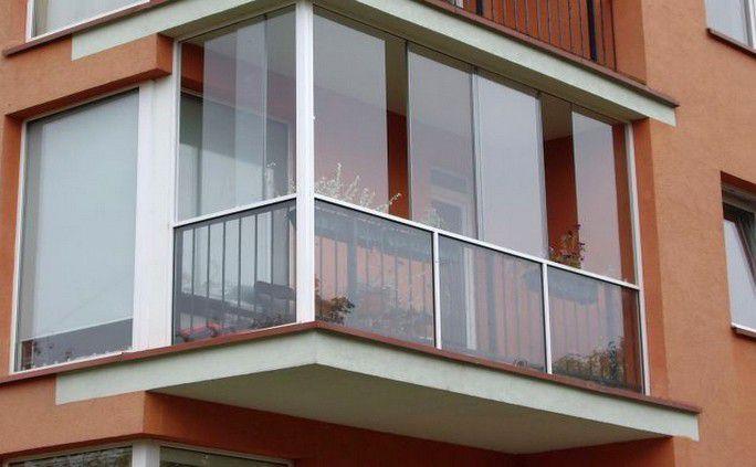 Панорамное остекление балкона, фото