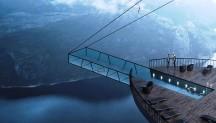 В Норвегии построят отель с панорамным остеклением на вершине скалы