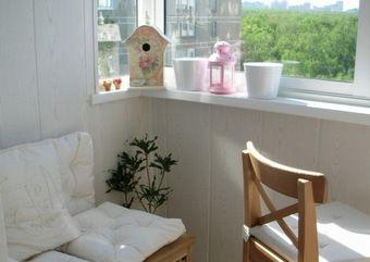 Теплый пластиковый балкон