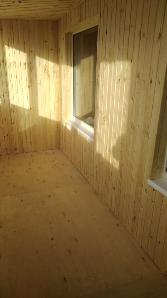 Обшивка, отделка балкона