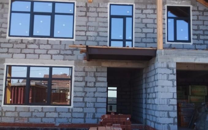 Пластиковые окна и входные группы для коттеджа 3