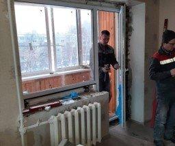 Установка пластиковых окон, технология зимнего монтажа