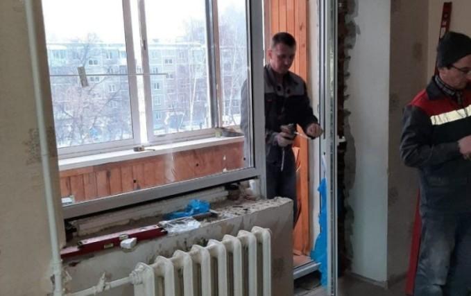 Установка пластиковых окон, технология зимнего монтажа 2