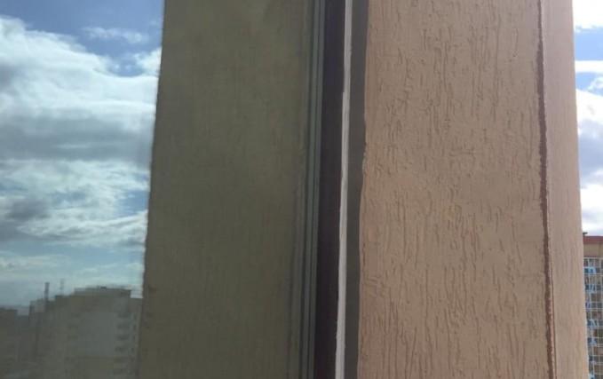 Монтаж Г-образного балкона с ламинацией 5