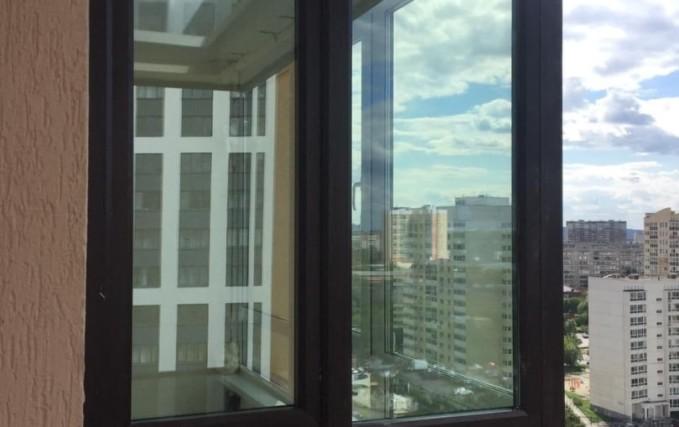 Монтаж Г-образного балкона с ламинацией 3