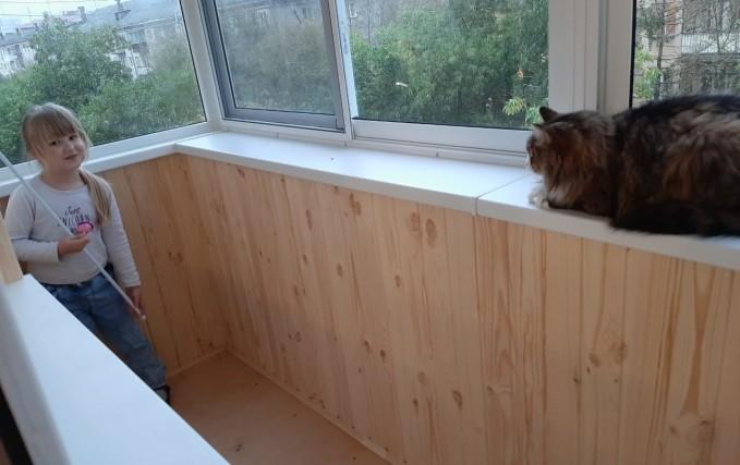 Установка алюминиевого раздвижного балкона 0