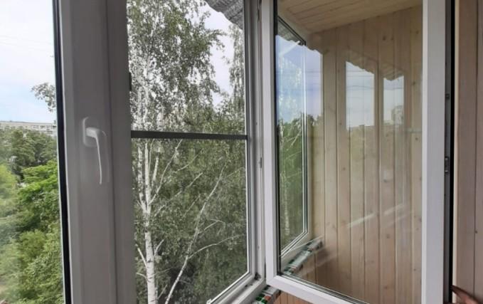 Теплый балкон из профиля Века. Отделка 1