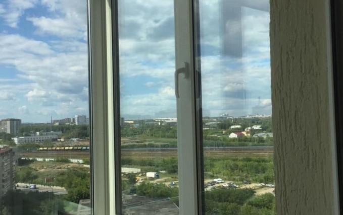 Монтаж Г-образного балкона с ламинацией 2