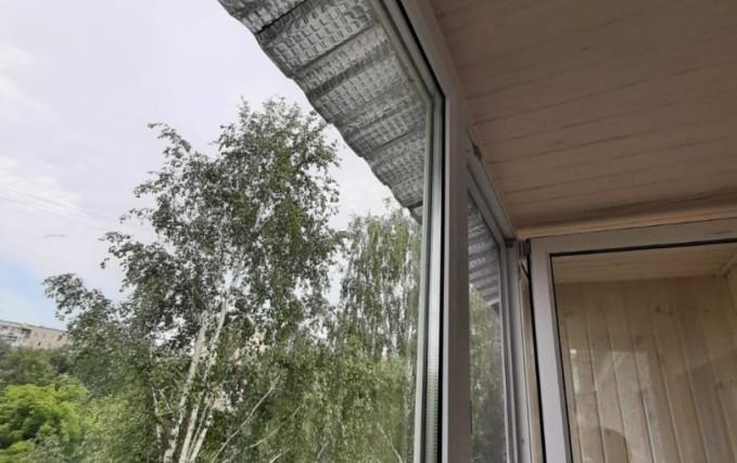 Теплый балкон из профиля Века. Отделка 9