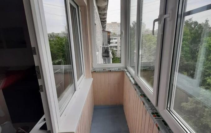 Теплый балкон из профиля Века. Отделка 0