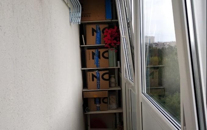 Остекление и благоустройство балкона 1