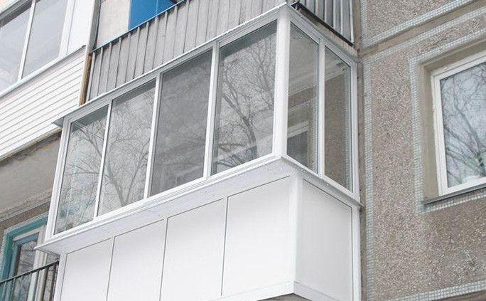 Холодное остекление балкона или лоджии - фото