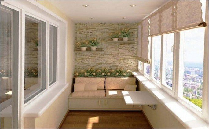 Балкон под ключ, фото