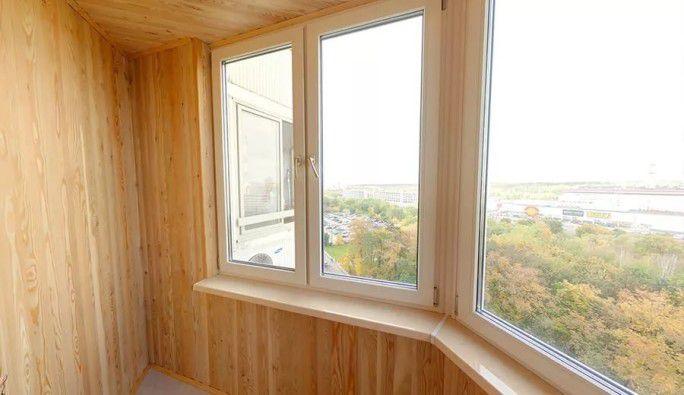 Фото остекления балкона