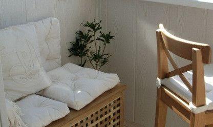 Уголок отдыха с местом для хранения