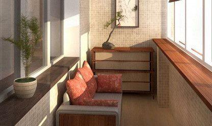 Место отдыха с классическим диваном