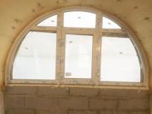 Пластиковые арочные окна VEKA