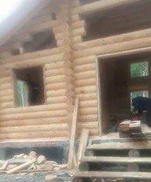 Пропиливание проемов в деревянном доме