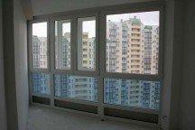 Монтаж теплого балкона вторым контуром, пластиковые окна Veka