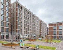 В Санкт-Петербурге строят ЖК с витражным остеклением балконов