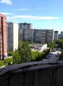 Начало работы над радиальным балконом