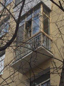 Теплый балкон в цвет фасада